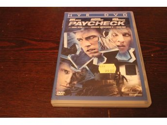 Dvd-film: Paycheck
