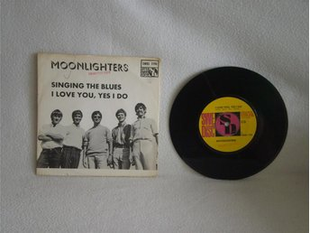 The Moonlighters   -  Singing the Blues                 PROMO - EXC!!