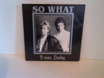 So what - I was lucky, vinyl EP