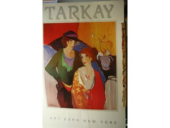 Poster / Itzchak Tarkay / Art expo New York