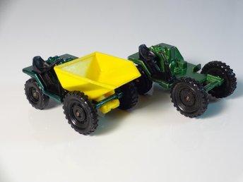 2 x Barford Bison Mini Dumper - Corgi Juniors - GBR - Skanör - 2 x Barford Bison Mini Dumper - Corgi Juniors - GBR - Skanör