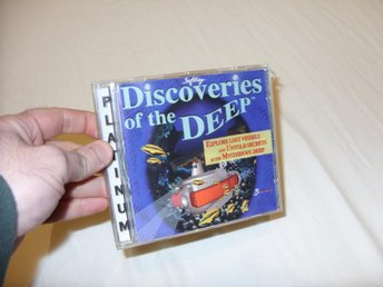Discoveries of the Deep Multimedia 1993 CD ROM PC DOS Windows