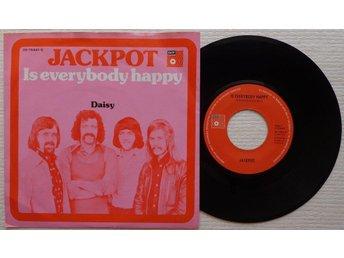"JACKPOT 'Is Everybody Happy' 1974 Dutch 7"" - Bröndby - JACKPOT 'Is Everybody Happy' 1974 Dutch 7"" - Bröndby"