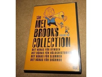 The Mel Brooks Collection Del 1 Box DVD , Det våras för rymmden , slummen