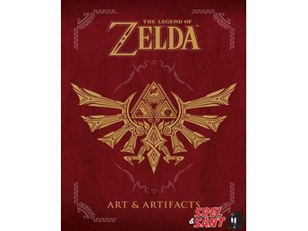 The Legend of Zelda Art & Artifacts (Inbunden)
