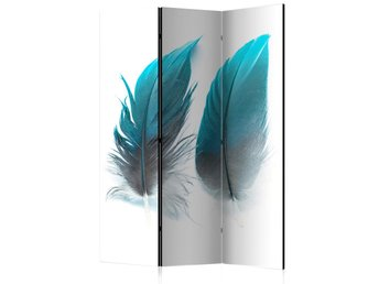 Rumsavdelare - Blue Feathers Room Dividers 135x172