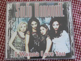 Solid Harmonie - I Wanna Love You CD Single 1998 / Fantasy