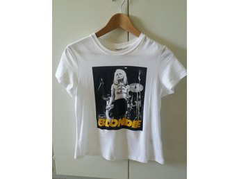 Blondie t-shirt, Debbie Harry, storlek M