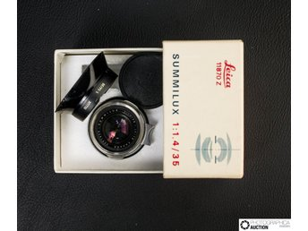 Leica  Summilux-M 35 mm f/1.4 Version I Collectable item