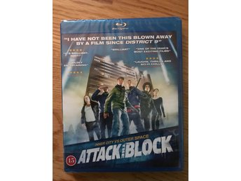 Attack the Block (blu-ray) ***INPLASTAD***