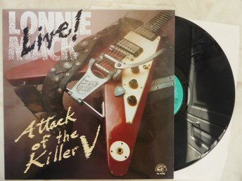 "Orig.US-press-90 - LONNIE MACK - ""ATTACK of the KILLER "" BluesRock/ ChicagoBlues"