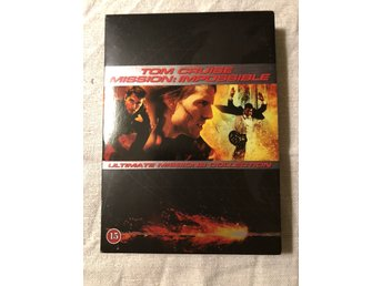 Tom Cruise Mission: Impossible Ultimate Missions collection dvd box