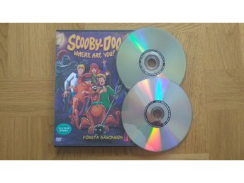 DVD: Scooby-Doo Where Are You Säsong 1 (svenskt tal)