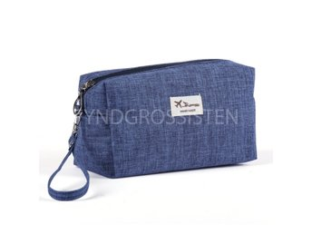 Cosmetic bag Organizer Blå Fri Frakt Ny