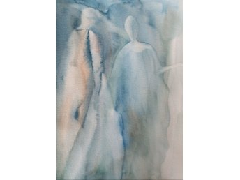 "Akvarell/Watercolor, ""Souls""."