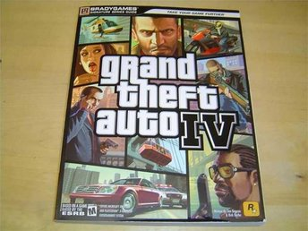 GUIDE GRAND THEFT AUTO 4 PLAYSTATION 2 PS2 & XBOX 360 *NYTT*