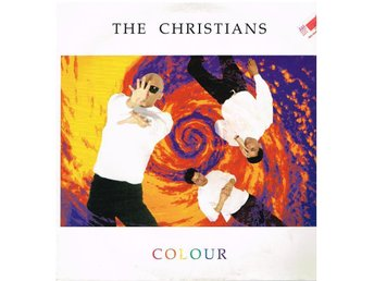 LP-skiva Vinyl. THE CHRISTIANS  COLOUR