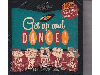 5 CD Box  Get Up And Dance