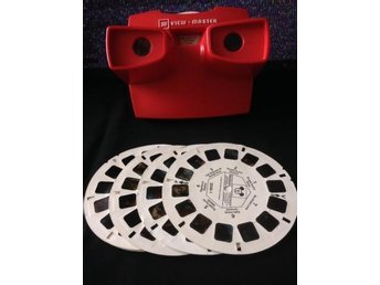View-master view master viewmaster med sex skivor