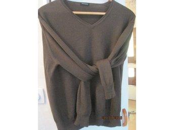 brun V neck 100% ull tröja L/40 Bruuns Bazaar - Uppsala - brun V neck 100% ull tröja L/40 Bruuns Bazaar - Uppsala