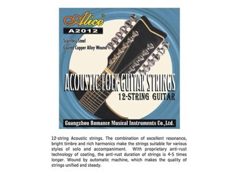 12 strängset, strängar till 12-strängad gitarr - Eskilstuna - 12 strängset, strängar till 12-strängad gitarr - Eskilstuna