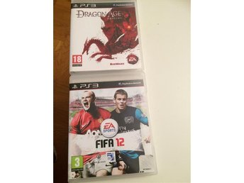 Dragon Age Origins och FIFA 12 Ps3