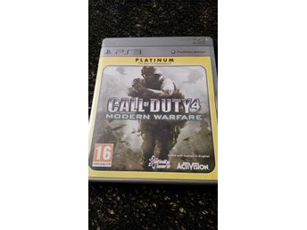 PS3 spel - Call of duty 4 Modern warfare
