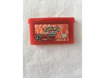 Tv Spel - Gameboy Advance - Pokémon Firered version