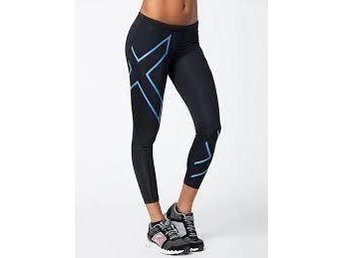 2XU  Compression Tights Blå stl S Dam