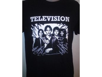 TELEVISION - T-Shirt- (SMALL) (NY, CBGB, Ramones, Blondie, Heartbreakers,)