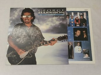 GEORGE HARRISON Cloud Nine LP GER 1987