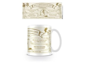 Harry Potter Mugg Hogwarts School List