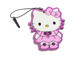 Hello Kitty Mobilsmycke/Plugg
