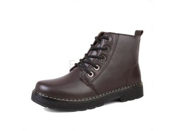 Dam Boots Female Botas Fashion Footwear Size 35-40 Brown 37