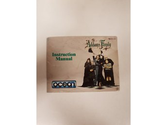 Addams Family - Manual NES NINTENDO - USA