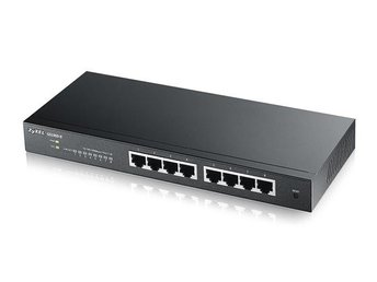 Zyxel GS1900-8, 8 port L2 Smart switch, Desktop, fanless