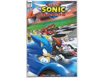 Team Sonic Racing One-shot NM Ny Import