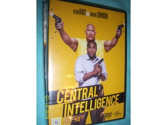 Central Intelligence - Dvd - Ny!