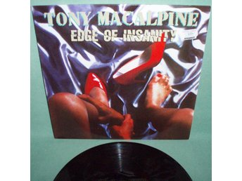 MACALPINE  TONY - Edge of insanity , LP 1986 , Roadrunner