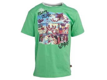 LEGO WEAR, T-SHIRT, PIRATES, GRÖN (140)