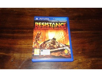Resistance Burning Skies, PS Vita, Komplett, Fint Skick!