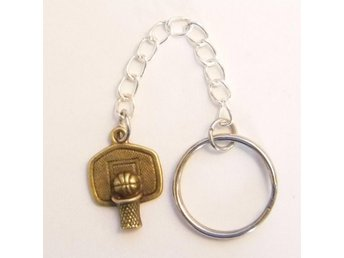 Basketboll nyckelring / Basketball keyring
