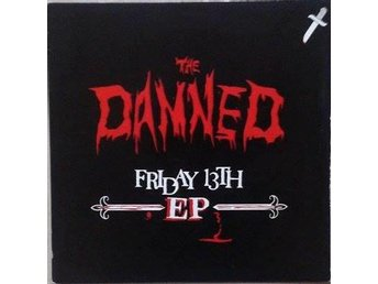 The Damned title* Friday 13th EP* Netherlands 7 Inch