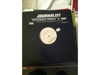 "Journalist ?– Extended Family M.O.P Mash Out Posse 12"" Vinyl Hip Hop"