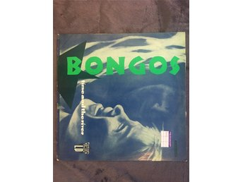 Bongos - Time and the river - LP - Brittisk Post punk från 1982