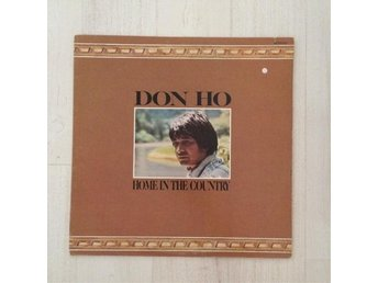DON HO - HOME IN THE COUNTRY. (LP)