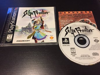 Saga Frontier Square RPG Playstation One