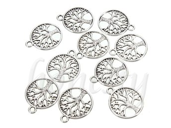 HELT NYTT!! SMYCKE  'Tree of Life Circle' Charms Pendants For Jewelry