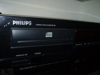 Snygg CD-spelare Philips/Compact disc player/HI-FI stereo CD spelare PHILIPS