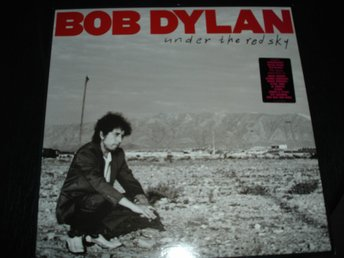 """Lp"" Bob Dylan - Under the red sky"